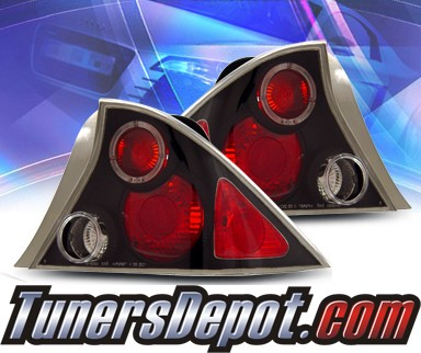 KS® Altezza Tail Lights (Black) - 01-03 Honda Civic 2dr.