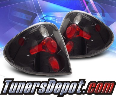 KS® Altezza Tail Lights (Black) - 01-06 Dodge Caravan