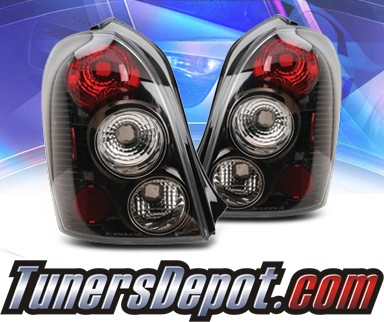 KS® Altezza Tail Lights (Black) - 02-03 Mazda Protege 5