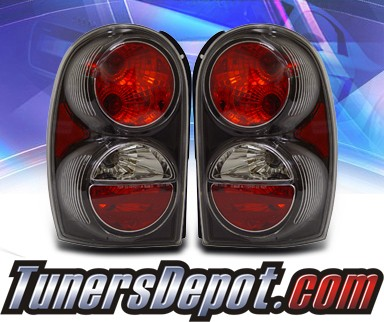 KS® Altezza Tail Lights (Black) - 02-04 Jeep Liberty