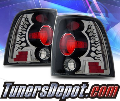 KS® Altezza Tail Lights (Black) - 03-06 Ford Expedition