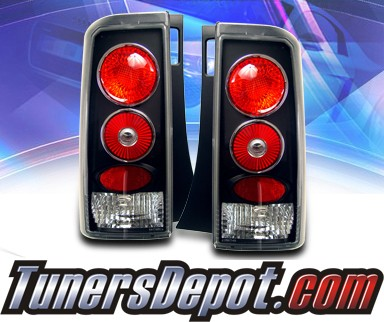 KS® Altezza Tail Lights (Black) - 03-07 Scion xB