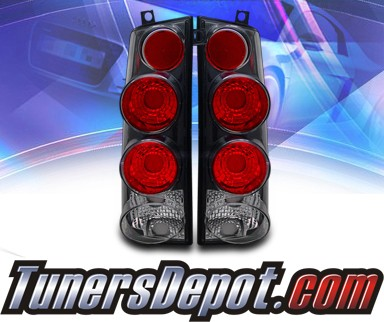 KS® Altezza Tail Lights (Black) - 03-08 Chevy Express Van