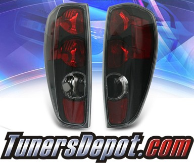 KS® Altezza Tail Lights (Black) - 04-10 Chevy Colorado