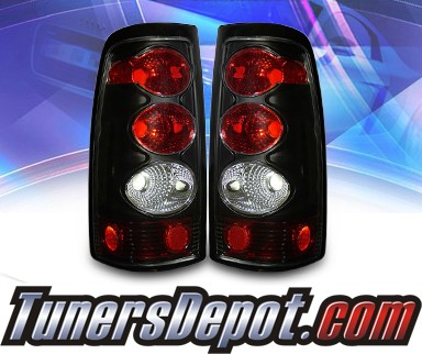 KS® Altezza Tail Lights (Black) - 2007 Chevy Silverado Classic