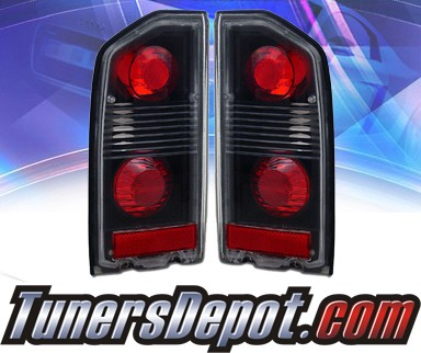 KS® Altezza Tail Lights (Black) - 89-98 Geo Tracker