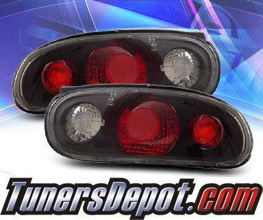 KS® Altezza Tail Lights (Black) - 90-97 Mazda Miata