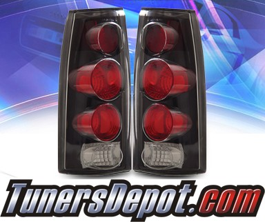 KS® Altezza Tail Lights (Black) - 92-99 Chevy Suburban