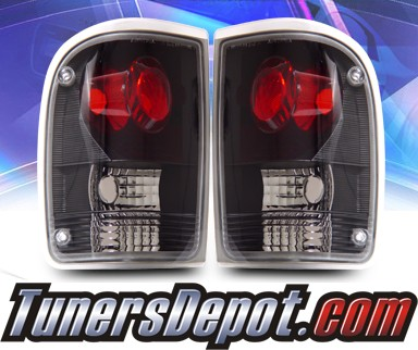 KS® Altezza Tail Lights (Black) - 93-97 Ford Ranger