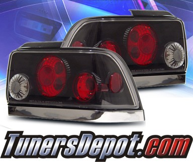 KS® Altezza Tail Lights (Black) - 93-97 Toyota Corolla