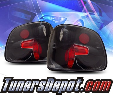 KS® Altezza Tail Lights (Black) - 97-00 Ford F-150 F150 Supercrew