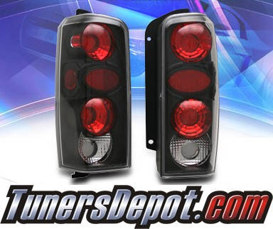 KS® Altezza Tail Lights (Black) - 97-01 Jeep Cherokee