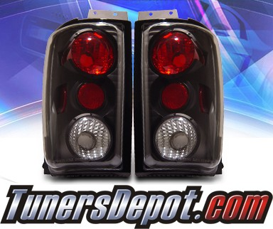 KS® Altezza Tail Lights (Black) - 97-02 Ford Expedition