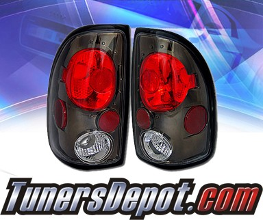 KS® Altezza Tail Lights (Black) - 97-04 Dodge Dakota