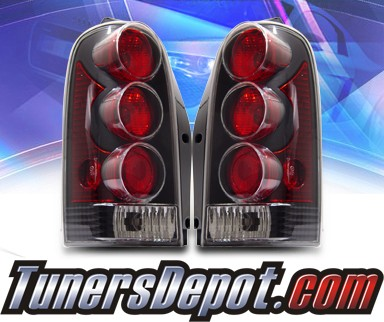 KS® Altezza Tail Lights (Black) - 97-98 Pontiac Trans Sport