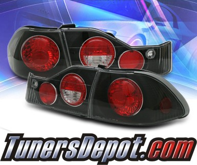 KS® Altezza Tail Lights (Black) - 98-00 Honda Accord 4dr.