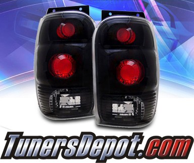 KS® Altezza Tail Lights (Black) - 98-01 Ford Explorer