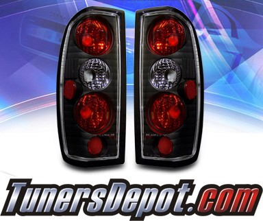 KS® Altezza Tail Lights (Black) - 98-04 Nissan Frontier