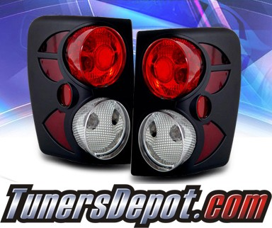 KS® Altezza Tail Lights (Black) - 99-04 Jeep Cherokee