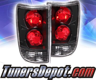 KS® Altezza Tail Lights (Dark/Smoke) - 95-00 Chevy Blazer