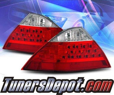 KS® Altezza Tail Lights (Red/Clear) - 06-07 Honda Accord 4dr