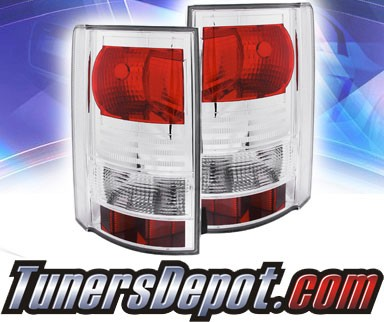 KS® Altezza Tail Lights (Red/Clear) - 08-10 Dodge Grand Caravan
