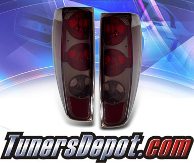 KS® Altezza Tail Lights (Red/Smoke) - 04-10 Chevy Colorado