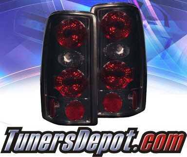 KS® Altezza Tail Lights (Smoke) - 00-06 Chevy Suburban (w/o Barn Doors)
