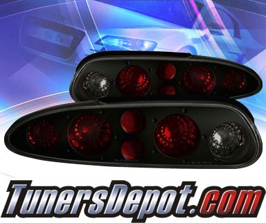 KS® Altezza Tail Lights (Smoke) - 93-01 Chevy Camaro