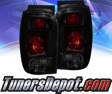 KS® Altezza Tail Lights (Smoke) - 98-00 Ford Explorer