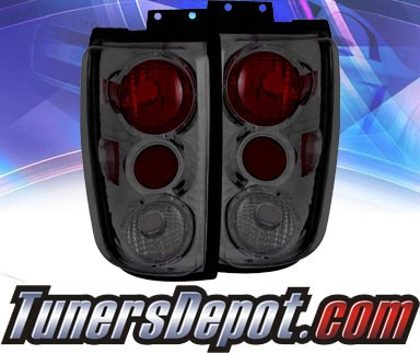 KS® Altezza Tail Lights (Smoke) (Gen 2) - 97-02 Ford Expedition
