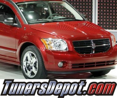 KS® CCFL Halo LED Projector Headlights (Chrome) - 07-13 Dodge Caliber