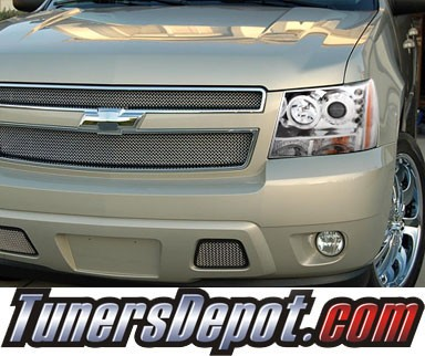 KS® CCFL Halo LED Projector Headlights (Chrome) - 07-14 Chevy Suburban