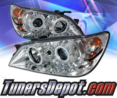 KS® CCFL Halo Projector Headlights - 01-05 Lexus IS300