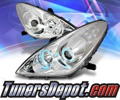 KS® CCFL Halo Projector Headlights - 05-06 Lexus ES 300