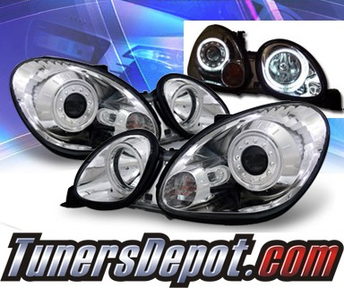KS® CCFL Halo Projector Headlights - 98-05 Lexus GS400
