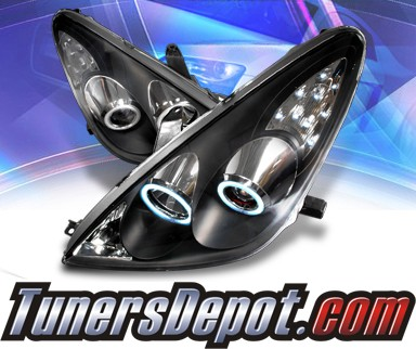 KS® CCFL Halo Projector Headlights (Black) - 05-06 Lexus ES 300