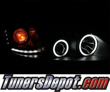 KS® CCFL Halo Projector Headlights (Black) - 05-10 Pontiac G6