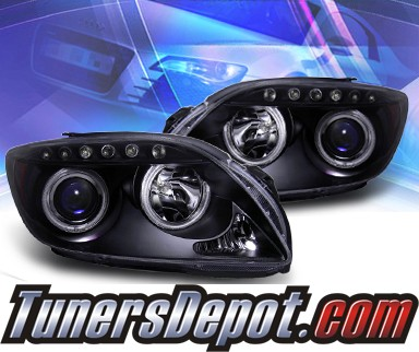 KS® CCFL Halo Projector Headlights (Black) - 05-10 Scion Tc (w/o stock projector headlights)