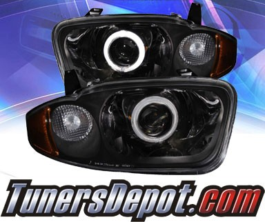 KS® CCFL Halo Projector Headlights (Chrome) - 03-05 Chevy Cavalier