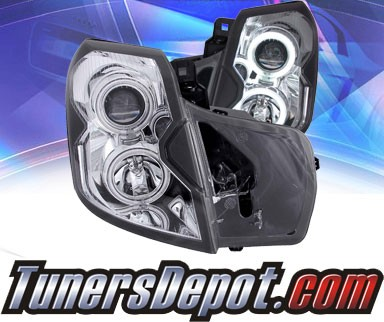 KS® CCFL Halo Projector Headlights (Chrome) - 03-07 Cadillac CTS