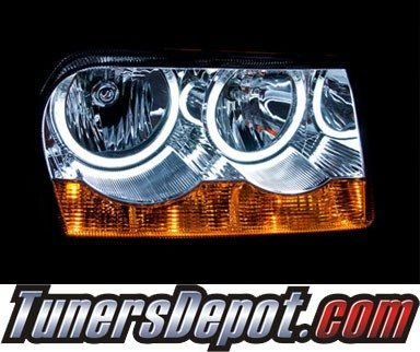 KS® CCFL Halo Projector Headlights (Chrome) - 05-12 Chrysler 300
