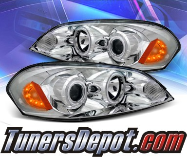 KS® CCFL Halo Projector Headlights (Chrome) - 06-07 Chevy Monte Carlo