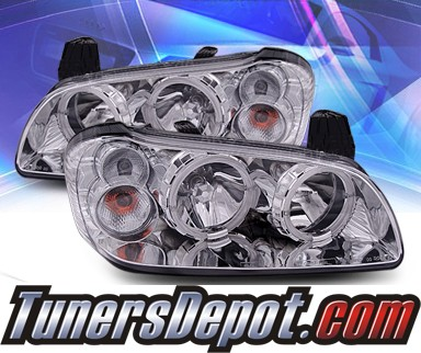 KS® Crystal Halo Headlights - 00-03 Nissan Maxima