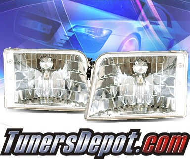 KS® Crystal Headlights  - 93-97 Ford Ranger