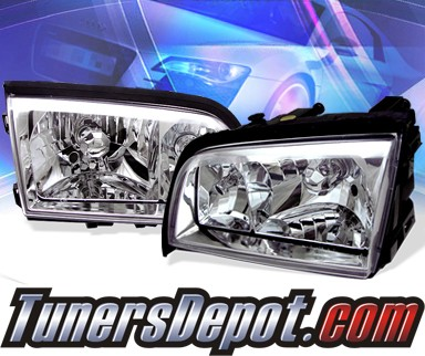 KS® Crystal Headlights  - 94-00 Mercedes-Benz C240 Sedan W202