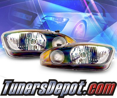 KS® Crystal Headlights (Black) - 03-05 Chevy Cavalier