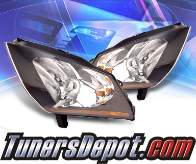 KS® Crystal Headlights (Black) - 03-06 Nissan 350Z