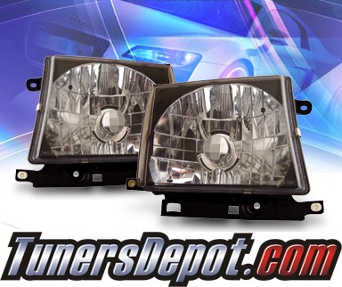 KS® Crystal Headlights (Black) - 97-00 Toyota Tacoma