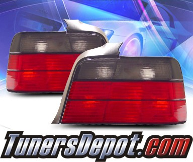 KS® Euro Tail Lights (Smoke) - 92-98 BMW 318i E36 4dr.